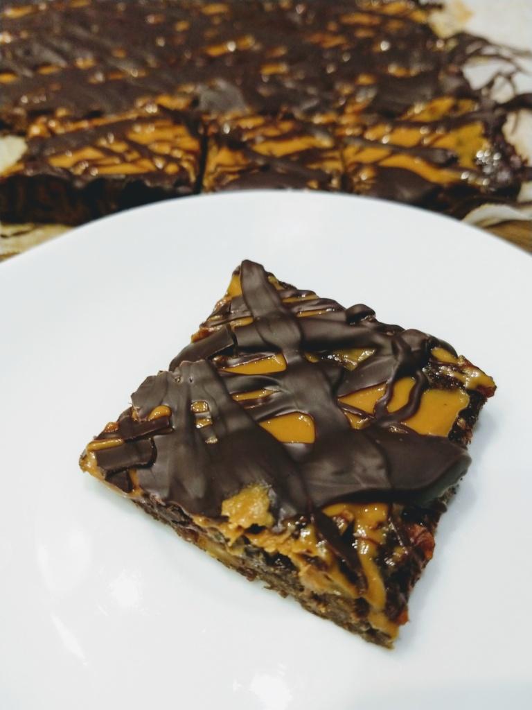 brownie z batatów
