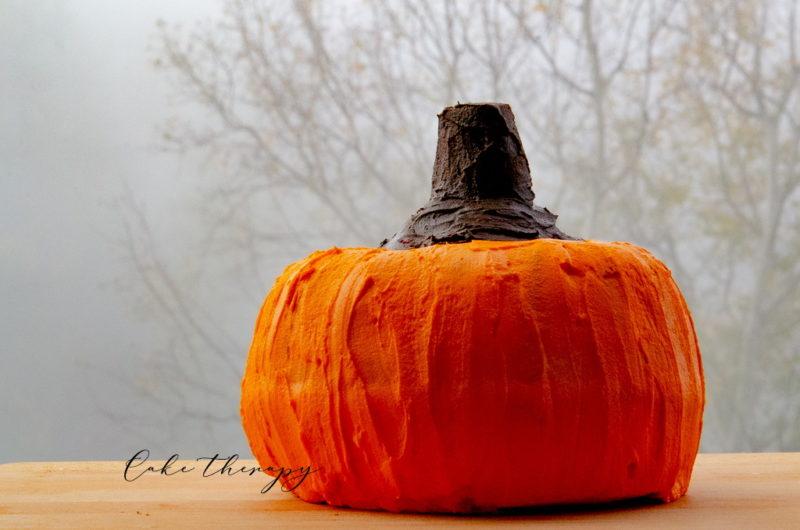 Ciasto dynia - słodkie Halloween