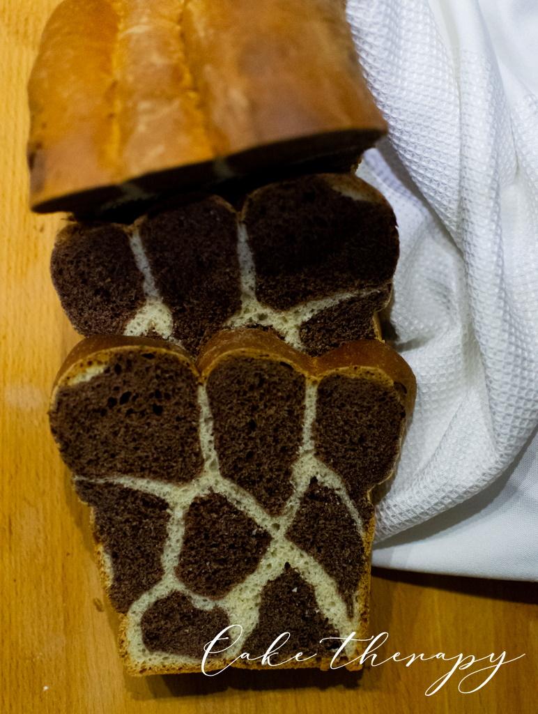ciasto żyrafa
