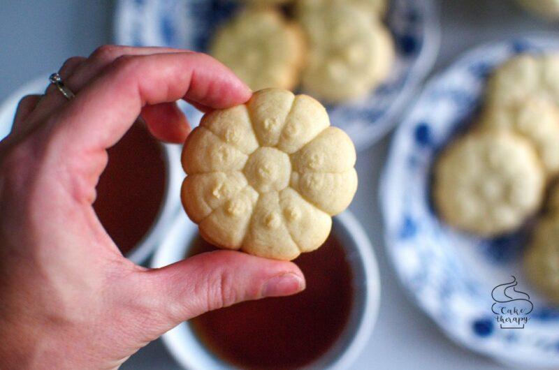 Holenderskie ciasteczka maślane