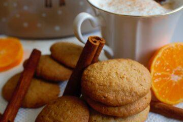 ciasteczka kawowo cynamonowe