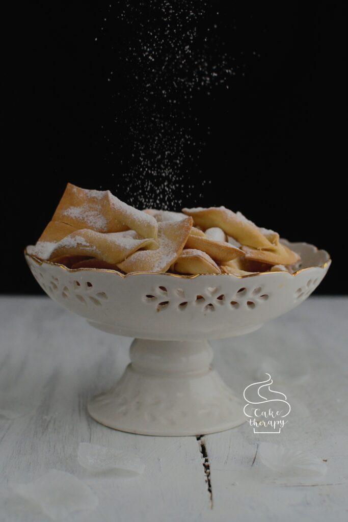 Faworki pieczone