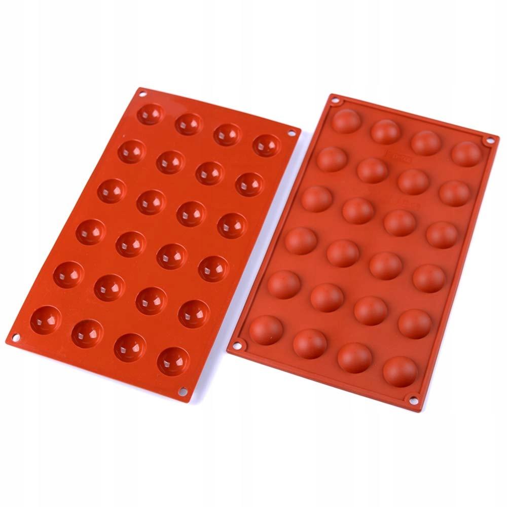forma silikonowa polkule