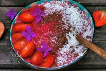 smoothie pink pitahaya