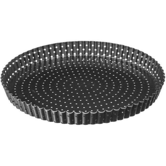 forma metalowa na tartę z dziurkami